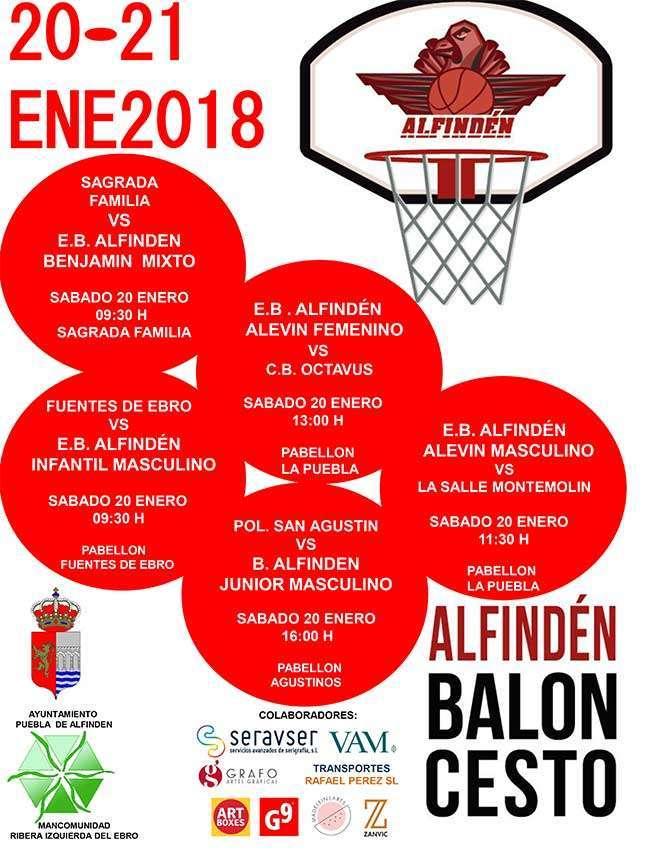 Calendario partidos de Baloncesto