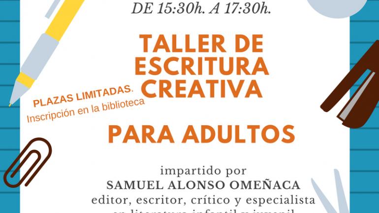 Taller de escritura creativa para adultos