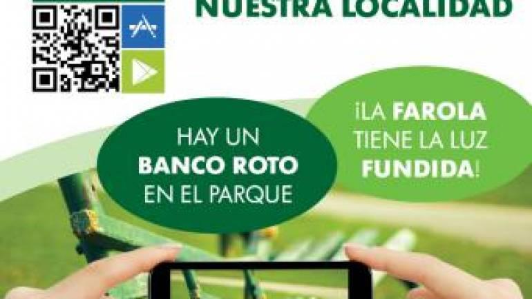 Los vecinos de La Puebla de Alfindén y los usuarios de los polígonos industriales tienen a su disposición la App «Línea Verde» para dar cuenta de desperfectos en el equipamiento urbano