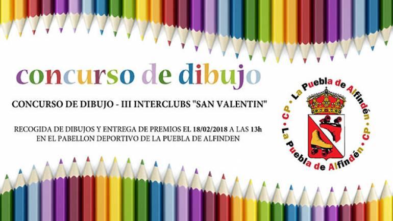 El Club Patín Alfindén organiza el Concurso de Dibujo 'Patinar'