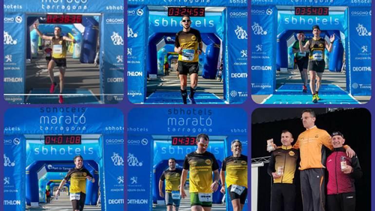Correcaminos en el Maratón de Tarragona y Duatlón Villa de Híjar