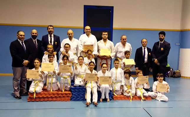 El club Nihon Tai Jitsu Alfindén organiza el primer Interclubs de Aragón de Katas