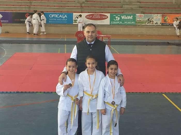El Club Nihon Tai Jitsu de La Puebla participa en el Interclubs de Lérida