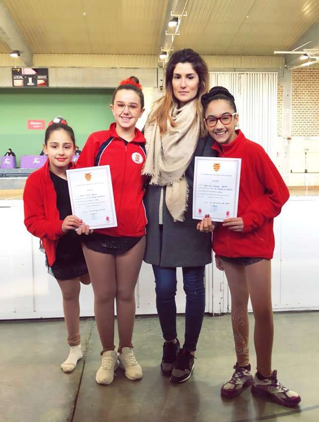 El Club Patín Alfindén compitió en el TEST DE NIVEL de LA CARTUJA