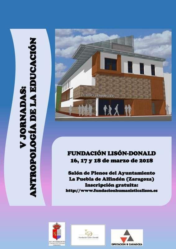 V JORNADAS: ANTROPOLOGÍA DE LA EDUCACIÓN – Fundación Lisón-Donald