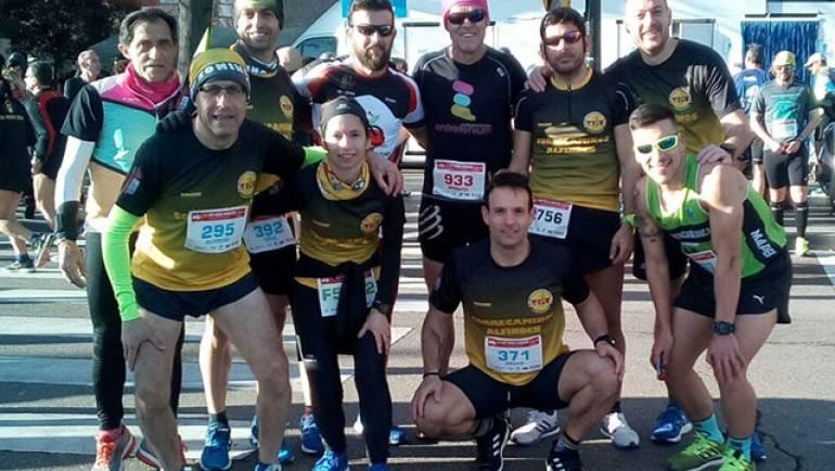 El Club Correcaminos participa en la Media Maratón de Zaragoza
