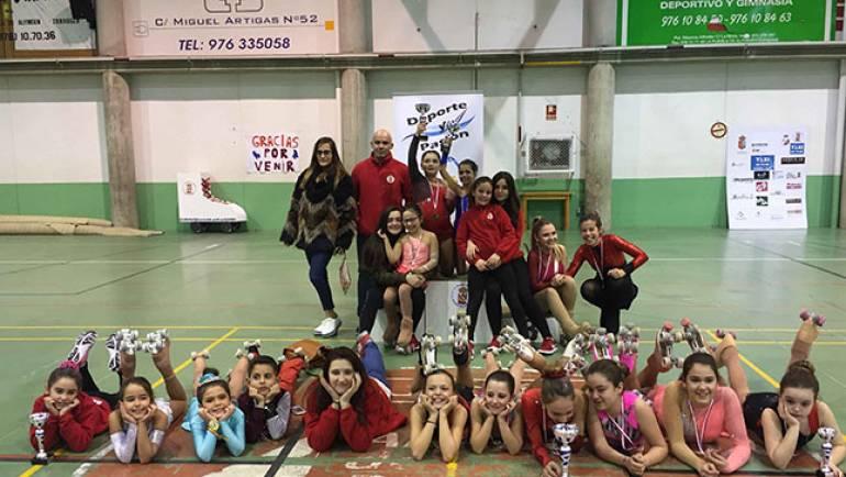 El Club Patín de La Puebla organiza el III Interclubs 'San Valentín'