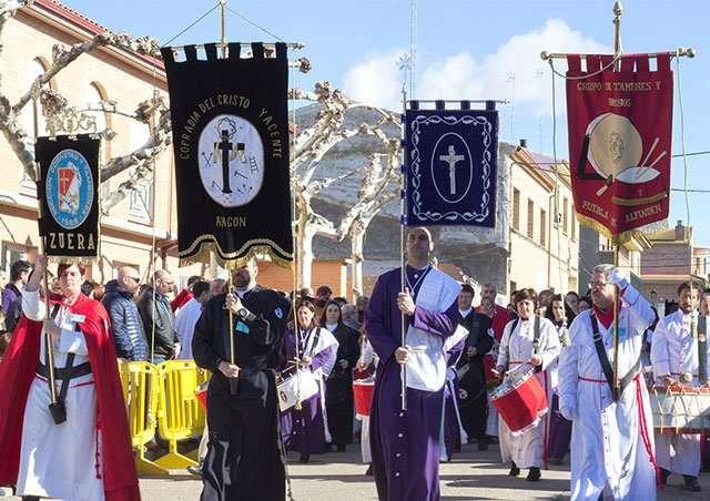 La Puebla de Alfindén celebra el VIII Concurso de Tambores y Bombos – Programa Actos Religiosos Semana Santa 2018