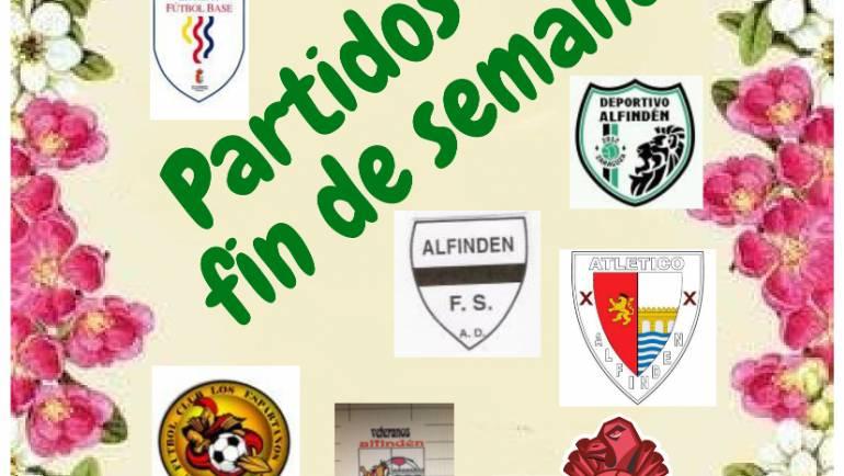 PARTIDOS JORNADAS 24-25 MARZO 2018