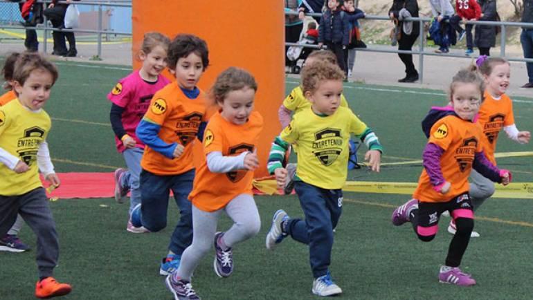 500 niños participan en la I Entretenium Urban Race
