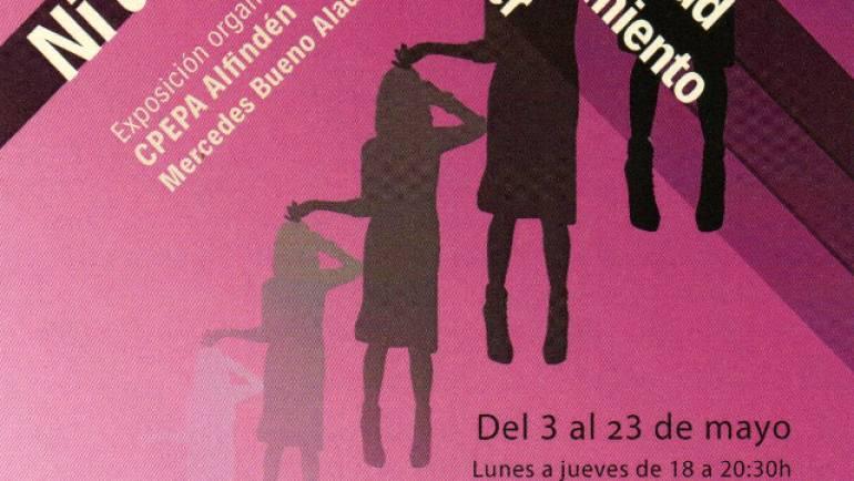 Exposición organizada por CPEPA Alfindén y Mercedes Bueno Aladrén