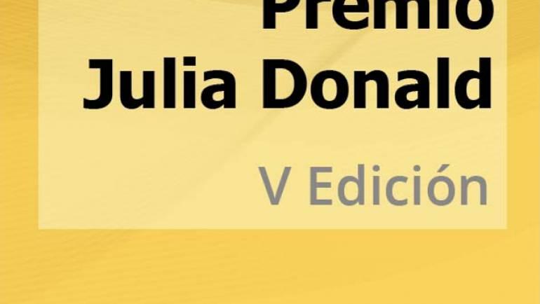 Premio Julia Donald 2018 – V Edición