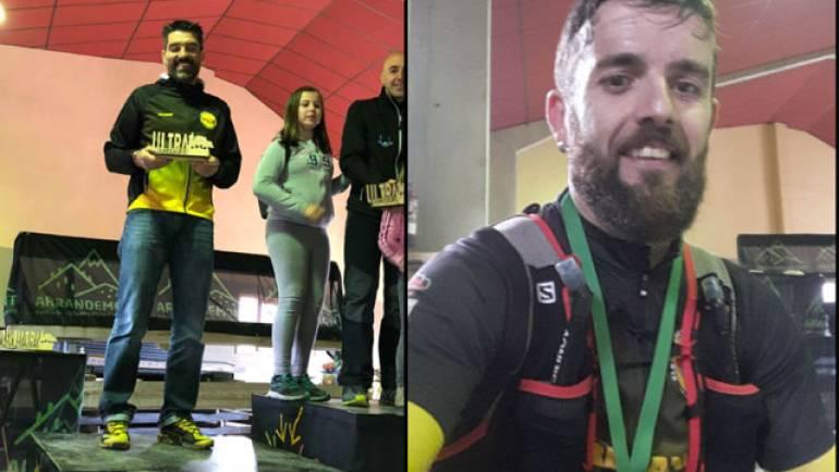 Escuer y Galante participaron en la Ultramaratón de Nogeruelas