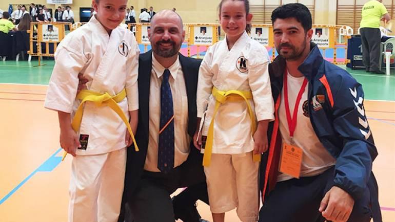 Representación alfindeña en el Campeonato de España de Nihon Tai Jitsu