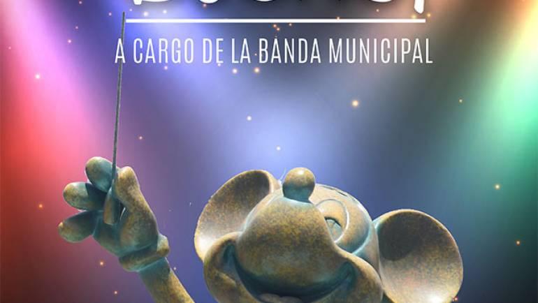 Concierto Disney, a cargo de la Banda Municipal
