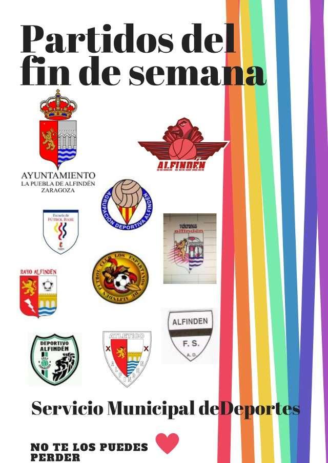 PARTIDOS JORNADAS 12-13 DE MAYO DE 2018