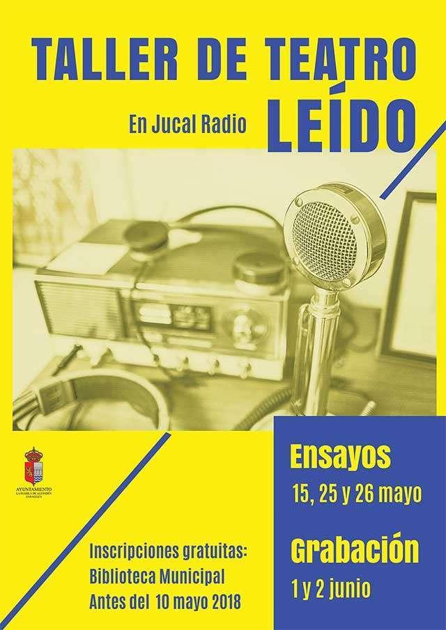 Taller de teatro leído en Jucal Radio