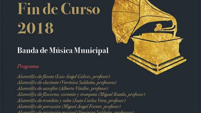 Audiciones Fin de Curso Banda