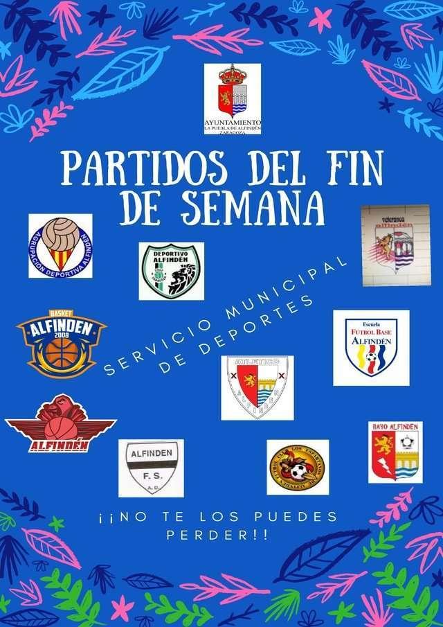 PATIDOS DEL FIN DE SEMANA 16-17 DE JUNIO