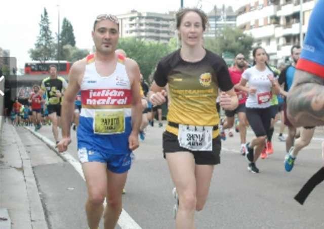 La correcaminos Sheila Tomás, 3ª de su categoría en la 5K Sanitas-Zaragoza