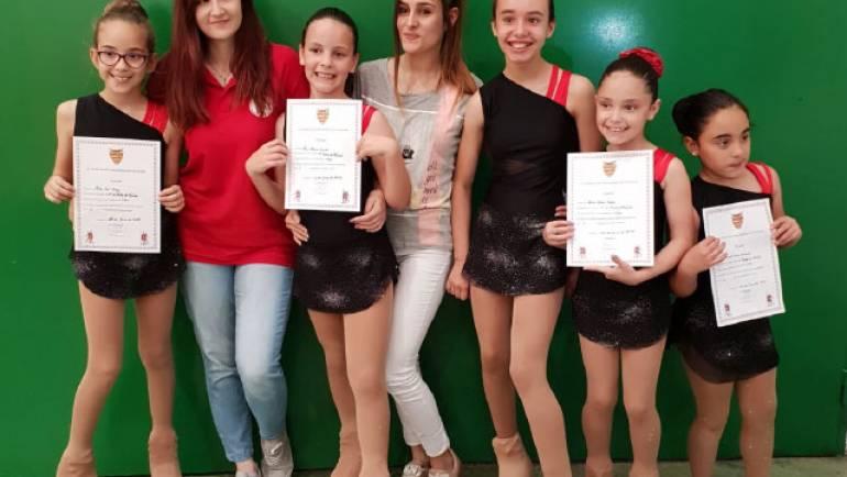 El Club Patín de La Puebla participó en el test de nivel de Cadrete