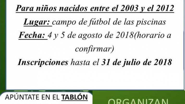 IV Torneo Fútbol 5 Promesas La Puebla de Alfindén