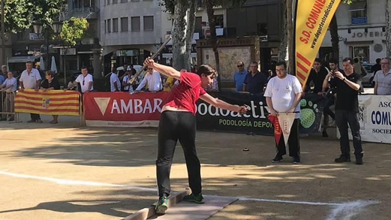 Gabriel Pardos se proclama campeón de Aragón de Tiro de Barra