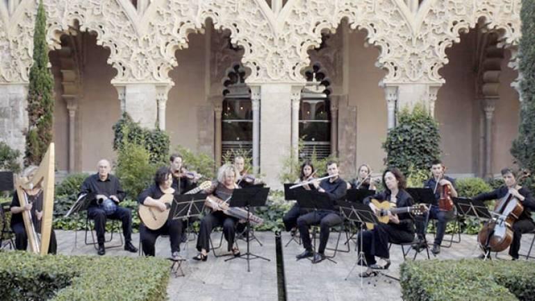Varios músicos de La Puebla participan en un proyecto audiovisual en la Aljafería