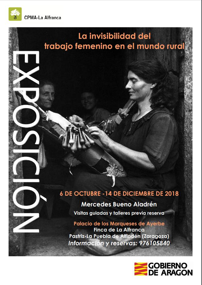 """Exposición: """"La invisibilidad del trabajo femenino en el mundo rural"""""""