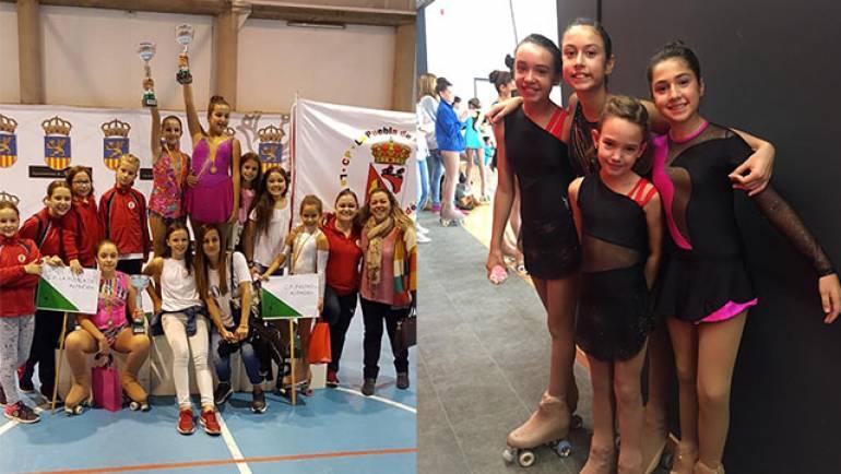 El Club Patín de La Puebla participó en el III Trofeo de María de Huerva y en el Torneo La Portaza