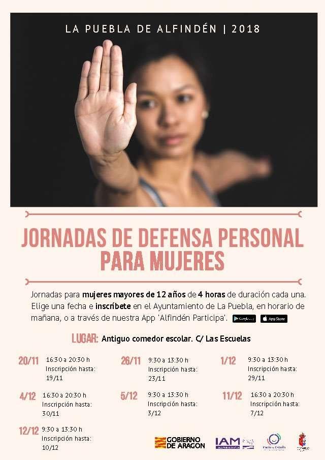 Jornadas de Defensa Personal para Mujeres