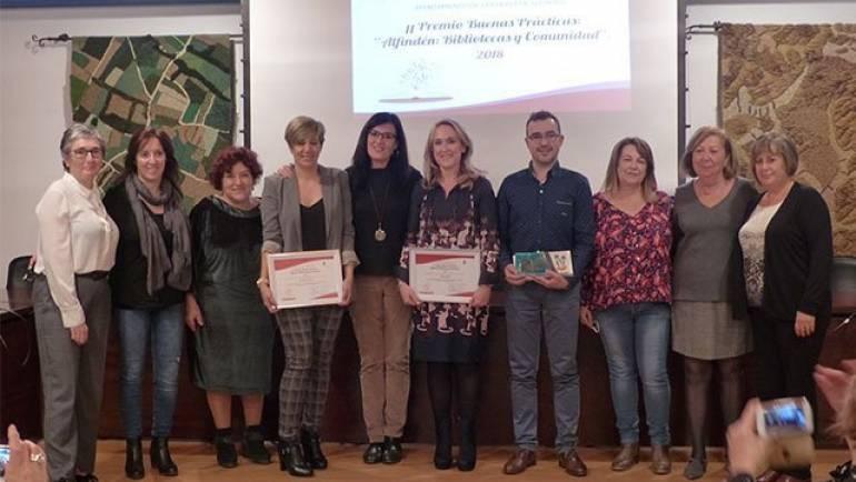 La Biblioteca Entrega el II Premio de Buenas Prácticas Bibliotecarias