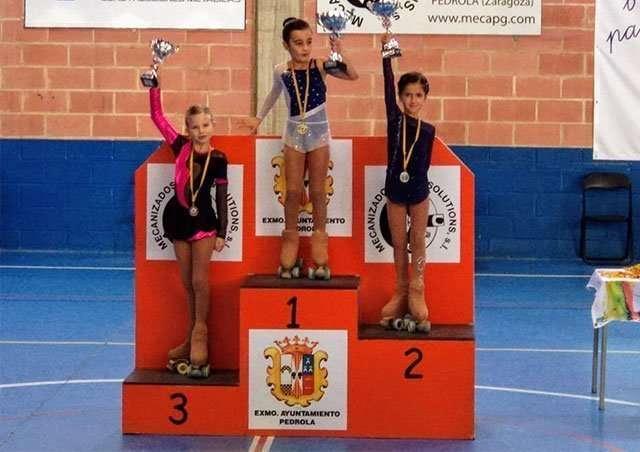 EL Club Roller Alfindén participó en el Torneo Promesas Pequeños de Pedrola y en el I Trofeo Ciudad de Soria