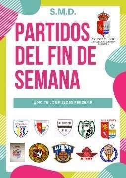 Horarios de los partidos a disputar en las instalaciones municipales el fin de semana del 2 y 3 de febrero de 2019