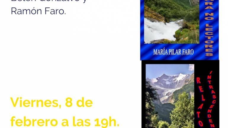 Próxima presentación de libros a cargo de María Pilar Faro
