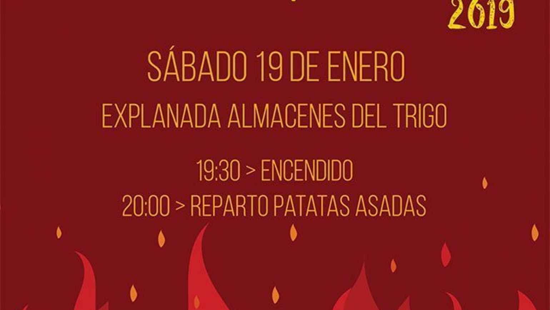 Hoguera de San Antón 2019