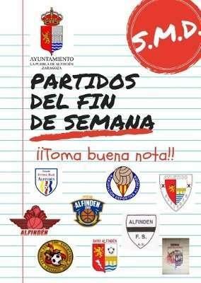 Horarios de los partidos a celebrar en las instalaciones municipales el fin de semana del 23 y 24 de febrero de 2019