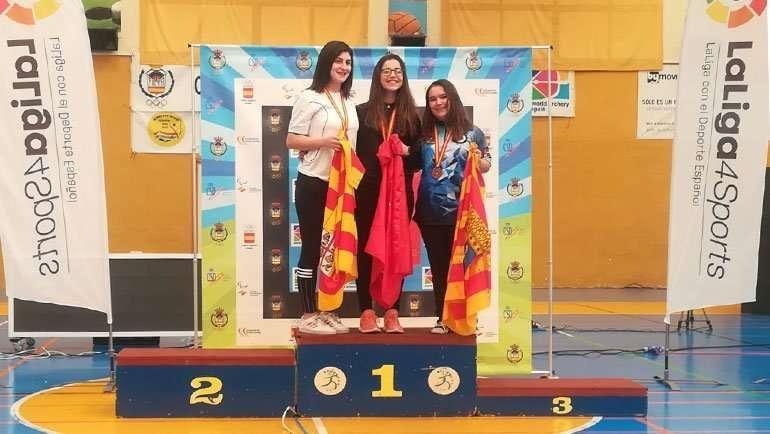 Andrea La Piedra, bronce en el Campeonato de España de Tiro con Arco