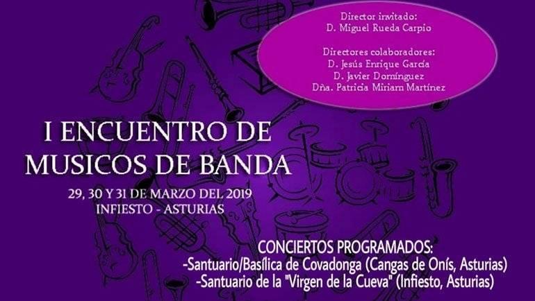 El director de la Banda Municipal de La Puebla dirigirá el I Encuentro de Músicos de Banda en Asturias