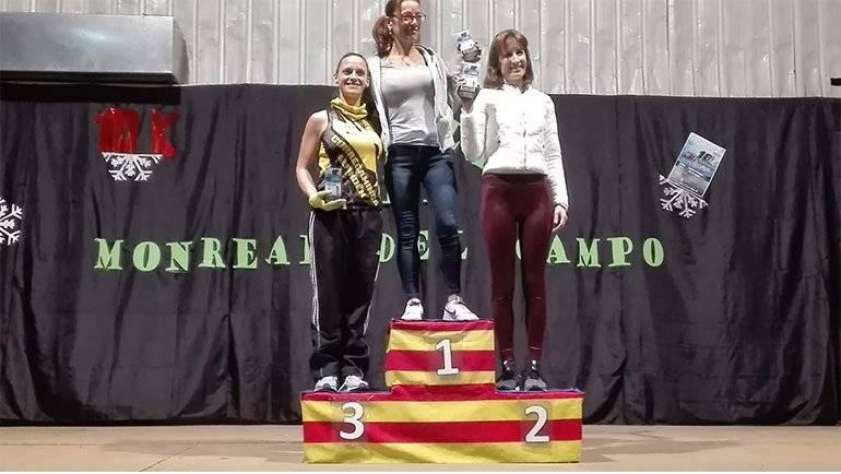 La correcaminos Mónica Marin, 3ª en la 10k de Monreal del Campo