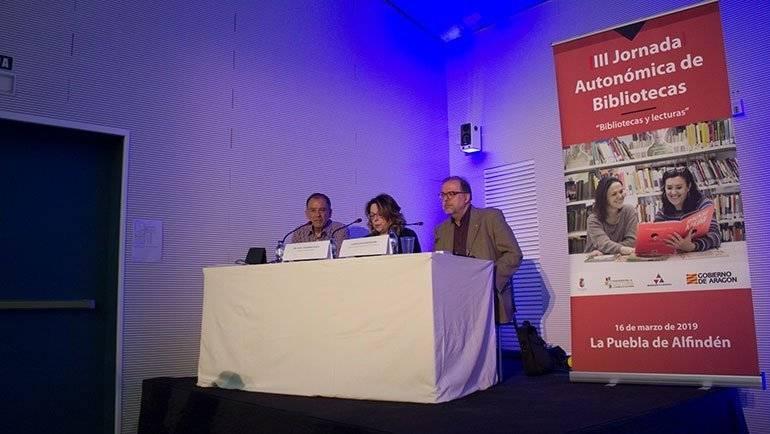 La Puebla de Alfindén acoge  la tercera Jornada Autonómica de Bibliotecas: 'Bibliotecas y lecturas'
