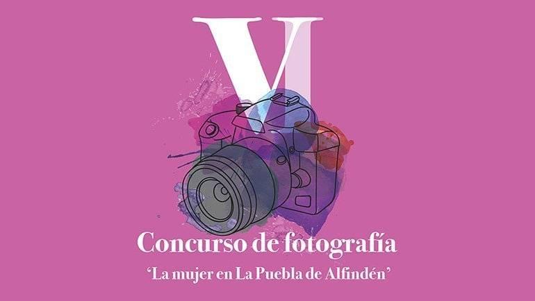 Entrega de premios del VI Concurso de Fotografía 'La mujer en La Puebla de Alfindén'