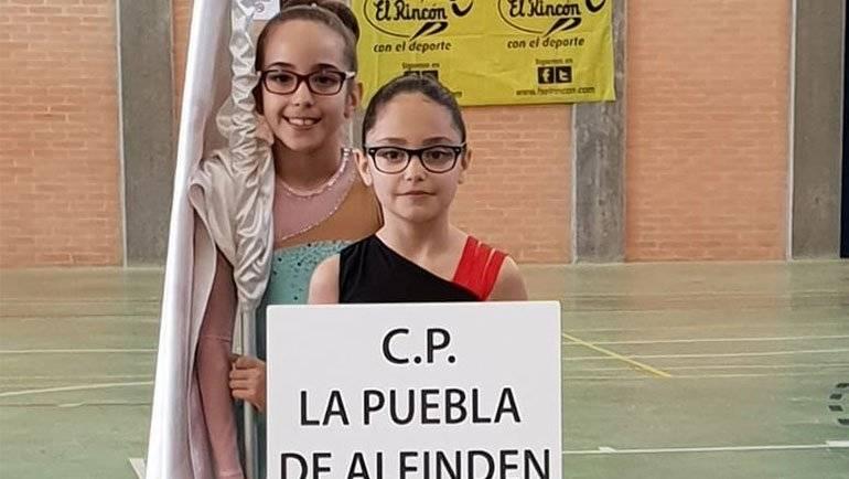 El Club Patín La Puebla de Alfindén consigue dos podios en el XVIII Torneo Promesas Pequeños de San Juan