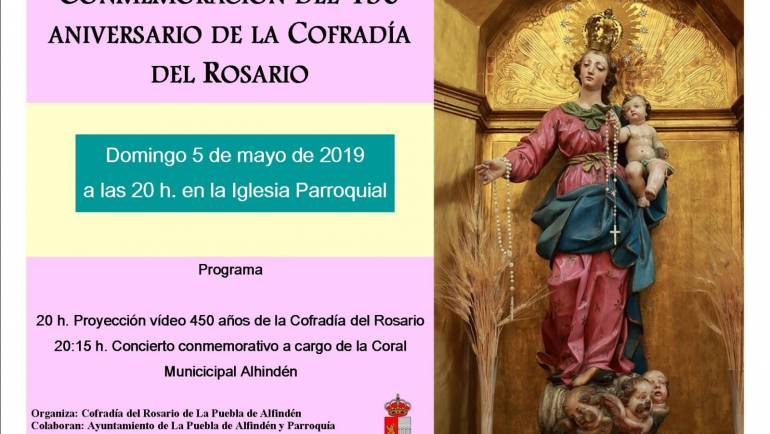 Conmemoración del 450 Aniversario de la Virgen del Rosario