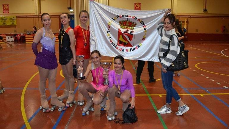 El Club Patín La Puebla de Alfindén participa en el XVIII Torneo Promesas Mayores