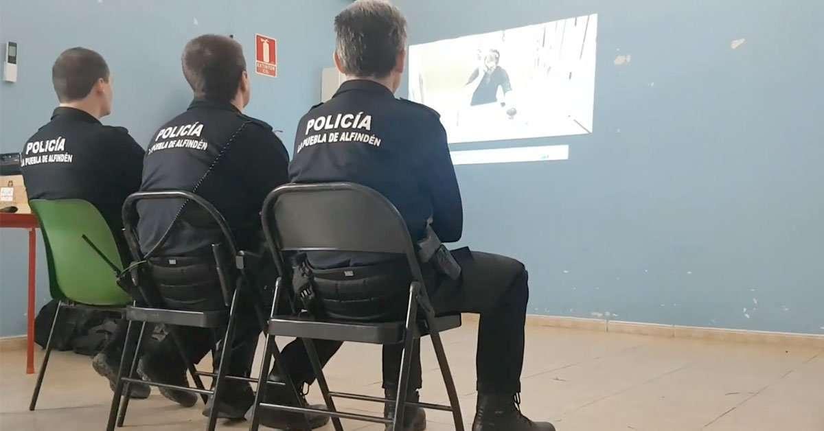 La Policía Local realiza un curso de control de sangrados