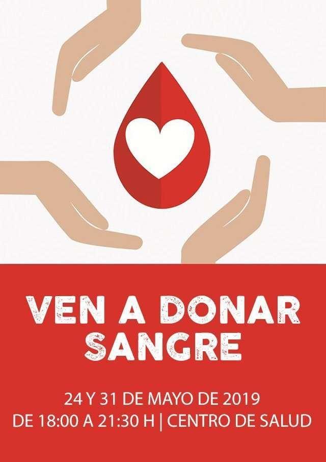 donacion de sangre la puebla de alfinden