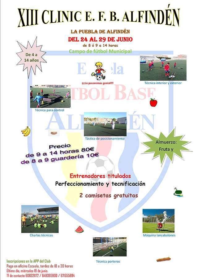 XIII Cliniq fútbol La Puebla