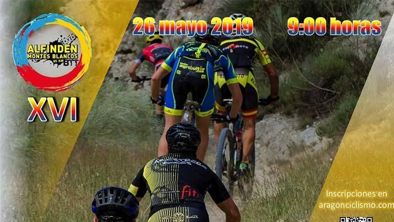 El Club Ciclista Alfindén organiza la XVI BTT Alfindén Montesblancos