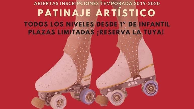 Abiertas las inscripciones del Club Patín La Puebla de Alfindén